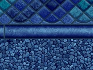 Hydra-Ocean-Blue pool liner
